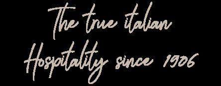 italian hospitality
